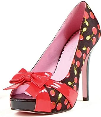 Leg Avenue Tart Adult Shoes Red 7