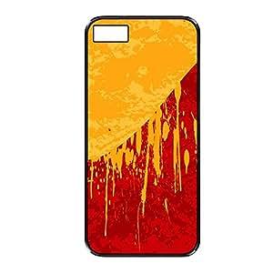 Vibhar printed case back cover for BlackBerry Z10 MustardRed
