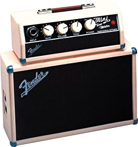 fender mini tonemaster battery powered electric guitar amp musical instruments. Black Bedroom Furniture Sets. Home Design Ideas