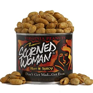 Scorned Woman Scorned Woman Virginia Peanuts 9-ounce Cans Pack Of 4 by Scorned Woman
