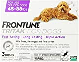 Merial Frontline Tritak Pest Control for Dogs and Puppies, 45 to 88-Pound