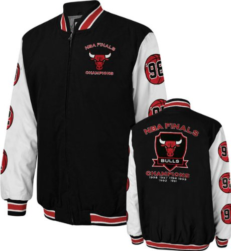 Chicago Bulls Black Hall Of Fame Commemorative Jacket at Amazon.com