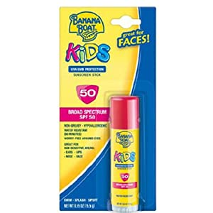 Banana Boat Kids Sunscreen Stick SPF 50 - .55 Ounce