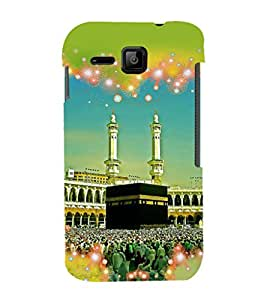 printtech Macca Madina Muslim Back Case Cover for Micromax Bolt S301
