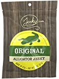 Original All Natural Alligator Jerky - The Best Wild Game Alligator Jerky on the Market - 100% Whole Muscle Gator - No Added Preservatives, No Added Nitrates and No Added MSG - 2 oz. bag
