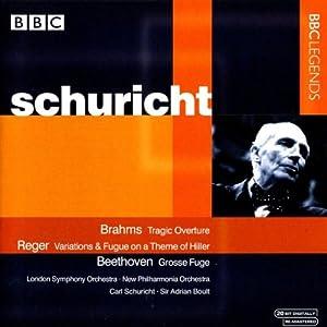 Brahms - Tragic Overture; Reger - Variations & Fugue