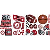 RoomMates RMK1099SCS University of Alabama Peel & Stick Wall Decals