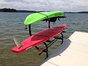 Buy Aluminum Kayak, SUP & Canoe Rack by DIY Dock