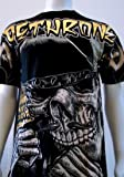 "DETHRONE ROYALTY ""NIGHTMARE GANGSTA"" MMA SHIRT LARGE"