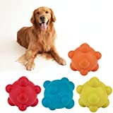 Alcoa Prime 4 Colors Products For Pet Puppy Dog Solid Natural Rubber Elastic Pet Ball Toys Bite Resistant Dog...