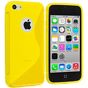 X-Cell S-Line TPU Back Cover for Apple iPhone 5C - Yellow