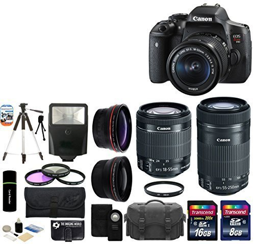 Sale!! Canon EOS Rebel T6i 24.2MP CMOS Digital SLR Camera with EF-S 18-55mm f/3.5-5.6 IS STM Lens + ...