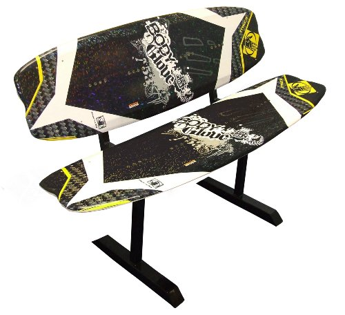 Wakeboarding Today Deals Body Glove Demo Wakeboard Bench Yellow Black 56 Inch
