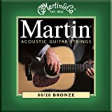 Martin M170 Extra Light Acoustic Guitar Stringsby Martin