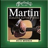 """Martin Gitarrensaiten f�r Akustikgitarren (80/20, Bronzeumwicklung, St�rke Extra Light 0.010 - 0.047)von """"Martin"""""""