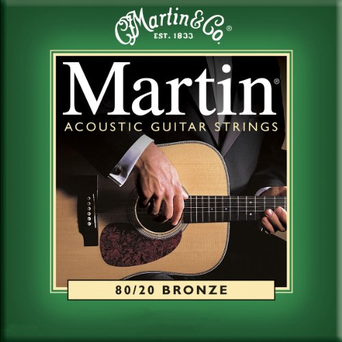 Martin M170 80/20 Acoustic Guitar Strings, Extra