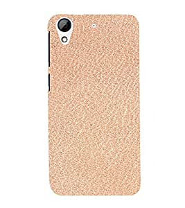 PrintVisa Peach Pink Paper Design 3D Hard Polycarbonate Designer Back Case Cover for HTC Desire 728