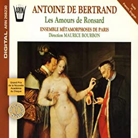 Amours de Marie, 2me livre des Amours de Ronsard : Veu que tu es plus blanche que le liz