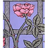 Climbing Rose Wallpaper, by William Morris (Print On Demand)