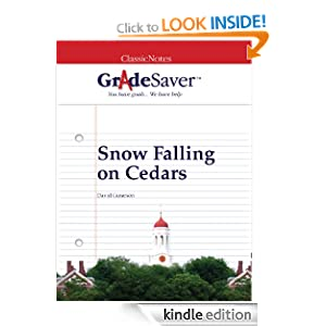 Ebook snow download on falling cedars