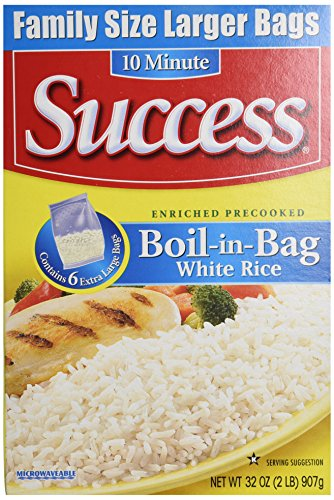 Success Boil-In-Bag White 6 Ct Rice, 32 Ounce (Boil In The Bag Rice compare prices)