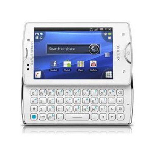 Sony Ericsson Xperia Mini Pro SK17i Unlocked GSM Android Smartphone--International Version with No US Warranty (White)