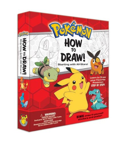 how to draw starter pokemon