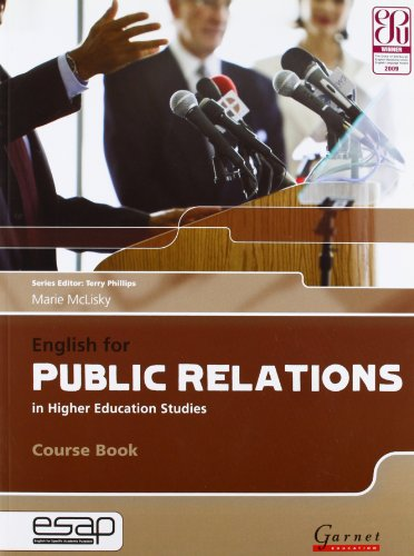 English For Public Relations In Higher Education Studies. Course Book (+2 Audio CD) (English for Specific Academic Purposes)