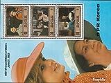 norte-Corea Bloque 129 (completa.edición.) nuevo con goma original 1982 nacimiento por príncipe Wlliam (sellos para los coleccionistas)