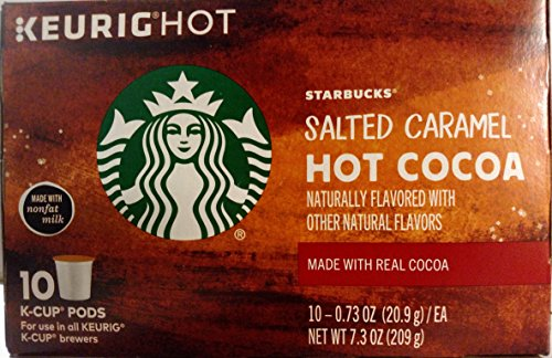 Starbucks Salted Caramel Hot Cocoa K-Cup 10 Count (Hot Chocolate Salted compare prices)