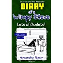Minecraft: Diary of a Wimpy Steve Book 4: Lots of Ocelots...