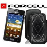 "/Original Forcell KARO - Leder Etui Pouch Tasche f�r Samsung S8600 Wave 3 inkl. 1x Optimal Shop Taschenkalender 2012von ""Forcell"""