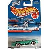 Hot Wheels - 1998 First Editions - #5 Of 40 - Jaguar XK8 (Open-Top Convertible) - Collector #639 - 1