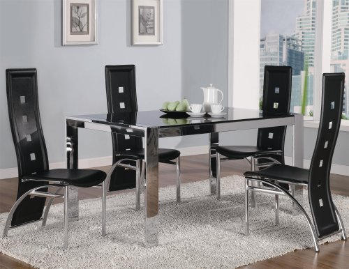 Buy Low Price Coaster Furniture Broward 5-Pc Dining Table Set by Coaster (120280-120282-5SET)