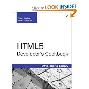 HTML5 Developer's Cookbook  - Chuck Hudson