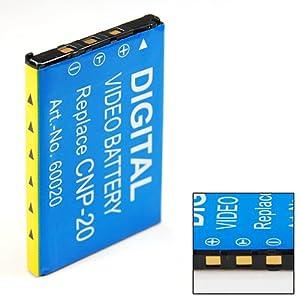 Sellway Batterie de Rechange de Qualité pour Casio Exilim EX-Z75 EXZ75 Ex Z75 NP-20 NP20