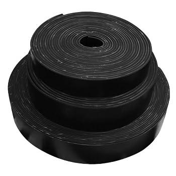 .30 2Ply Heavy Black Conveyor Belt Black Rubber Sheet Thick x 10 Width x 24 Length