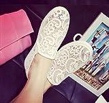 (フルールドリス)Fluer de lis レース スリッポン スニーカー パンプス パンプススニーカー ローヒール 靴 シューズ 婦人靴 アパレル レディース ファッション 服 247-k1-8085
