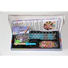 [Best price] Arts & Crafts - Rainbow Loom Kit and Tie Dye Rubber Bands - toys-games
