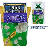 1963 Movie Night Gift Package for 50th Birthday or 50th Anniversary Gift