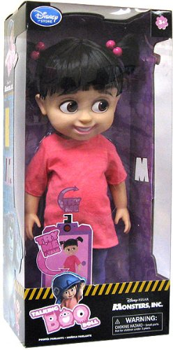 Disney Monsters Inc. Exclusive 16 Inch Deluxe Talking Doll Boo (Disney Monsters Inc Boo compare prices)