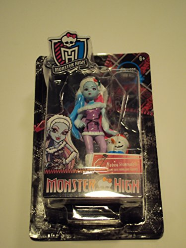 Monster High Abbey Bominable Christmas Pvc Figure