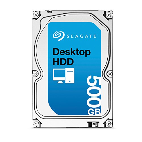 Seagate シーゲイト 内蔵ハードディスク Desktop HDD 500GB ( 3.5 インチ / SATA 6Gb/s / 7200rpm / 16MB / 2年保証 ) 正規輸入品 ST500DM002