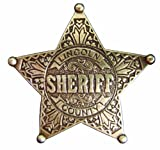 Denix Old West Era 2.5-Inch Lincoln County Sheriff Replica Badge