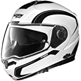 Nolan N104 Action Helmet (White/Black, Medium)