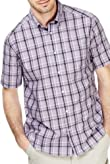 Pure Cotton Easycare Large Grid Checked Shirt [T25-8205M-S]