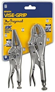 Irwin Tools 36- 2 Piece Original Locking Pliers Set Contains: 1 Each 7WR and 6LN