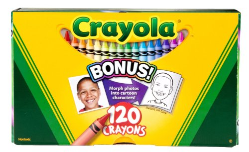 Crayola 52-6920 Original Crayon 120-Color Set front-1036464