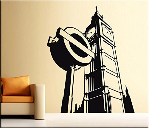 Londra limiti wall sticker skyline adesivo art disponibile for Arredi murali