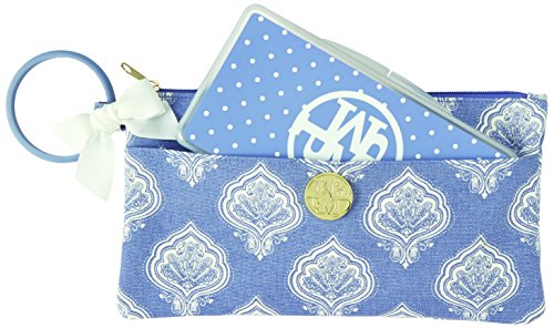 Mud Pie Jaipur Lil Biter Bangle Bag, Blue